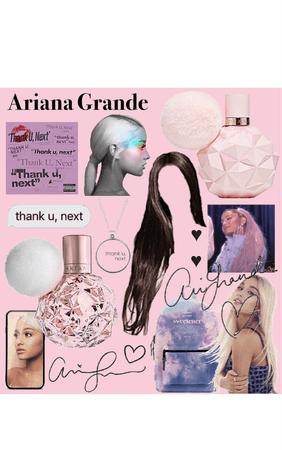 Ariana Grande Perfume Aesthetic