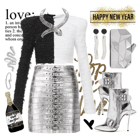 NYE Dance Party 👯♀️ Silver and Black