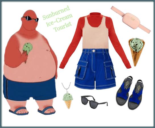 Ice-Cream Man outfit - Disneybounding