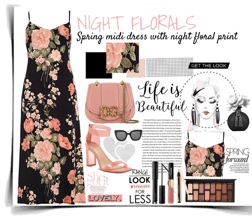 NIGHT FLORALS