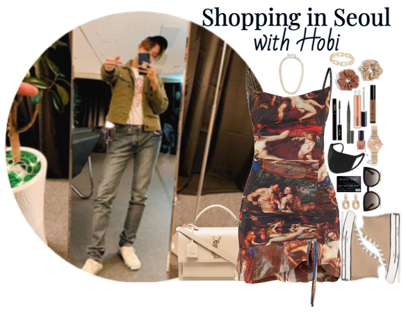 Shopping in Seoul with Hobi