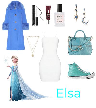 Queen Elsa buys milk