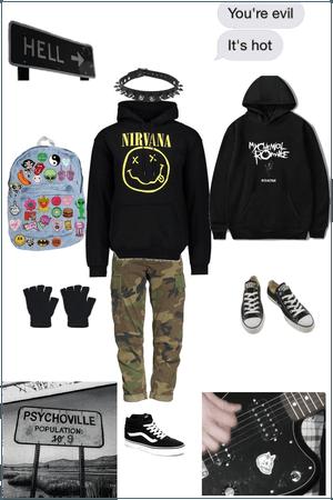 Mcr grunge boy