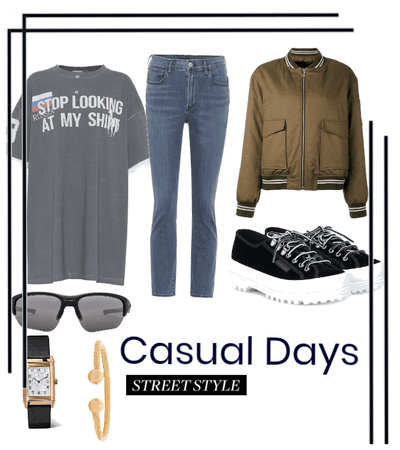 Casual Days: Street Style