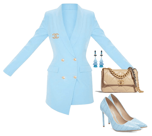 Chanel Blue 19