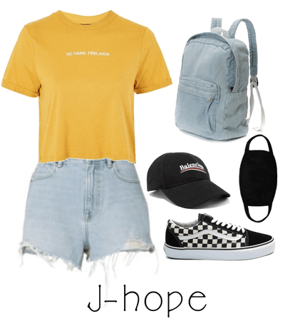 J-hope Airport fashion inspired | BTS