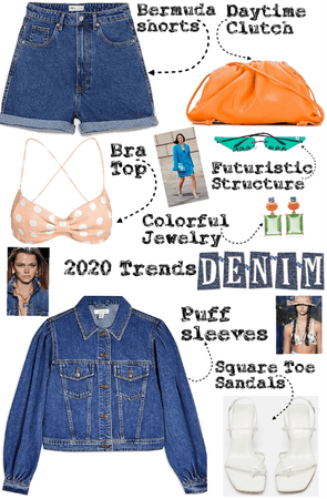 Denim and spring trends