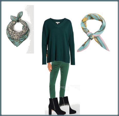 Green sweater 01