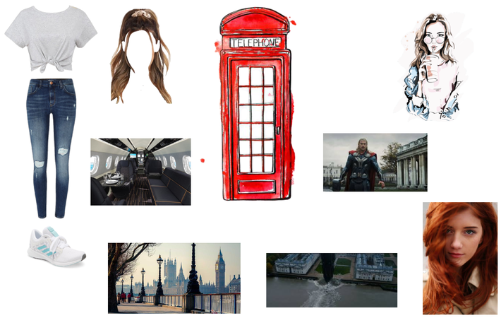 Piper goes to London with Hailey