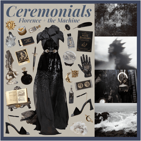 Moodboard Series: Florence + the Machine 'Ceremonials'.....