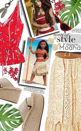 Moana style