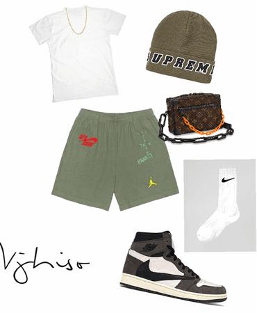 Cactus Jack // Supreme // Louis V // Nike fit