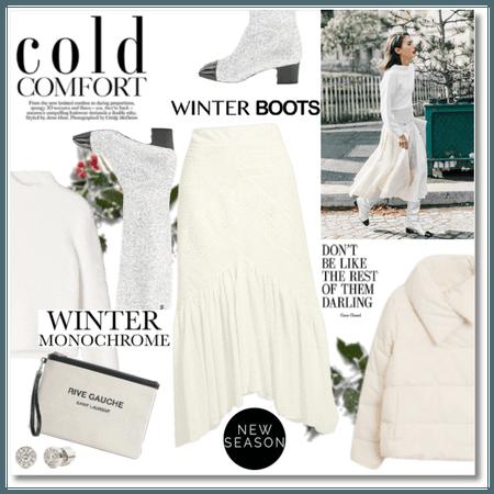 Winter Monochrome: Cold Comfort
