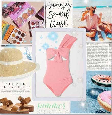 Summer Sandal! 🌹👙