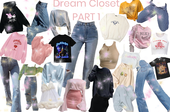 My dream closet!! ♡︎㋛✌︎︎