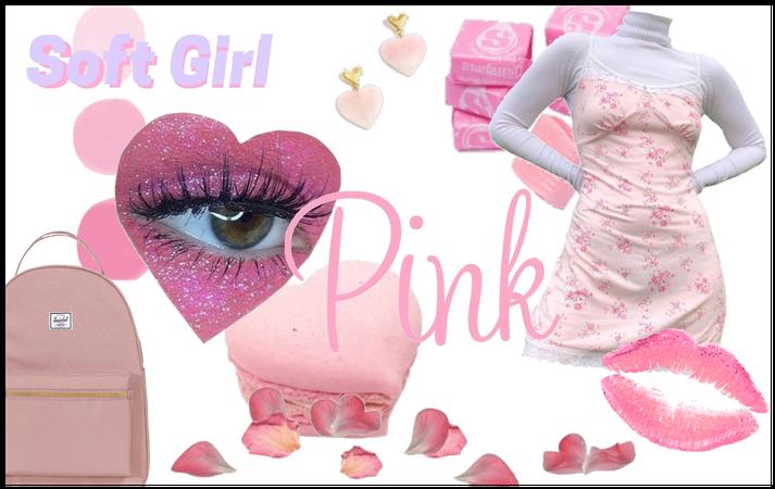 Pink softgirl