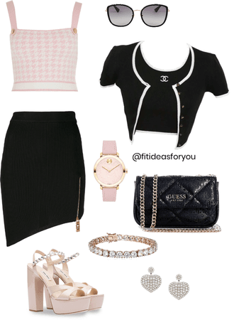formal chic outfit for events