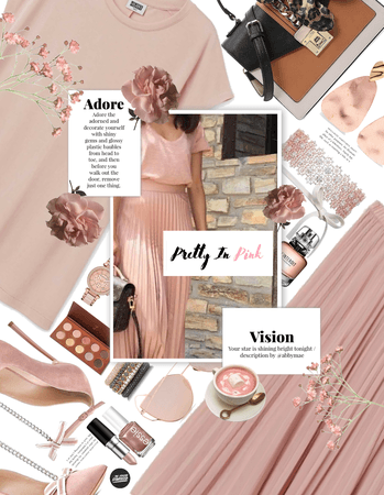 Get The Look: Dusty Pink And Rose Gold
