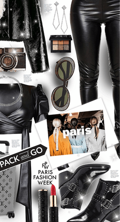 PFW Pack And Go: Leather On Leather Knockout