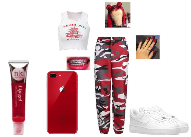 Red fit #1