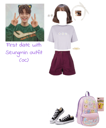First date with Seungmin outfit (oc)