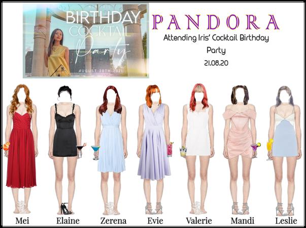 PANDORA at Iris' Cocktail Birthday Party