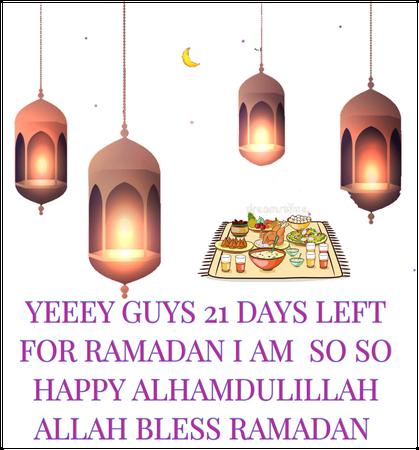 Ramadan yeeeey