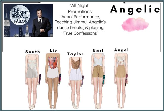 천사의 (Angelic) 'Aeao' On TTSSJF