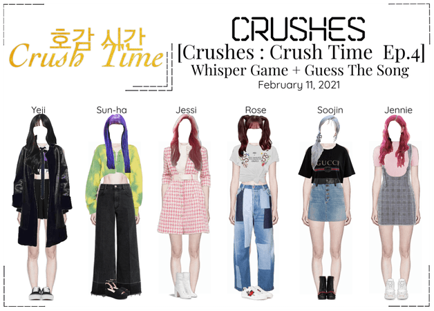 Crushes (호감) [Crush Time : Ep. 4]