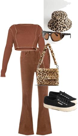 brown cheetah fit