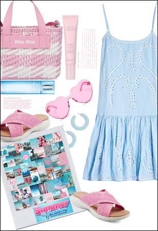 """Blue & pink """" summer"""""""