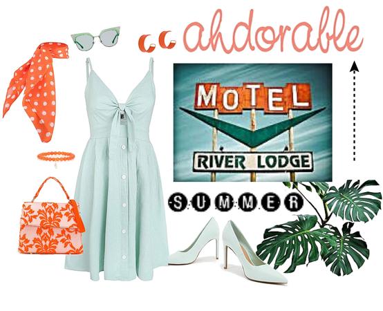 Retro Motel Summer