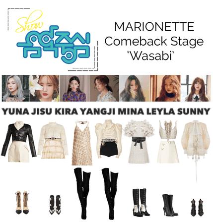 {MARIONETTE} Show! Music Core Comeback Stage