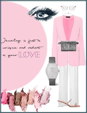 Pink & Grey Jewellery