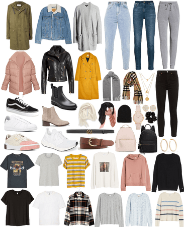 Capsule Wardrobe Fall 2020
