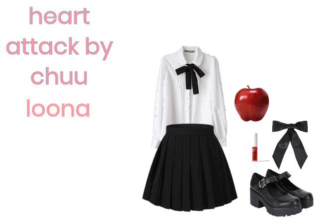 heart attack by chuu loona look