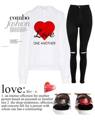 Love One Another Hoodie #01