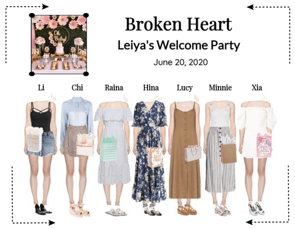 Broken Heart (상한 마음) Leiya's Welcoming Party