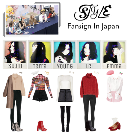 STYLE Fansign In Japan