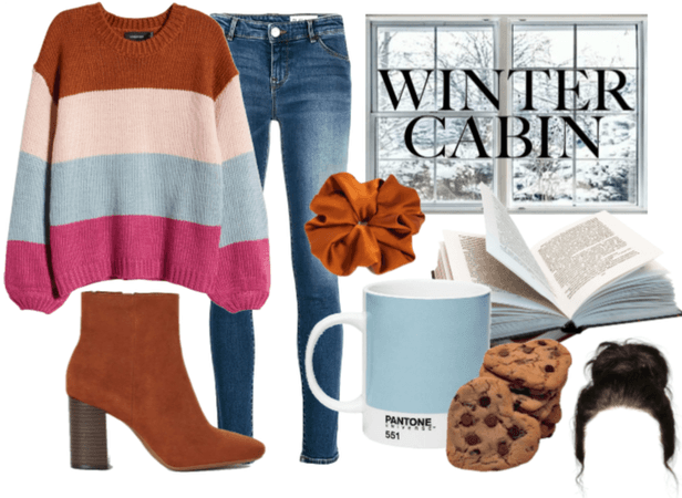 Chic Winter Cabin
