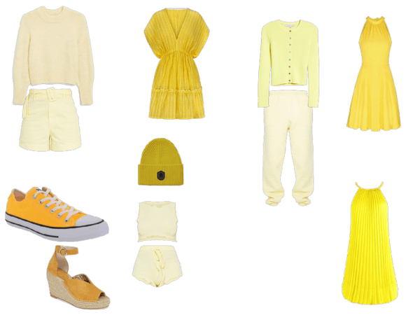 Yellow outfit idea