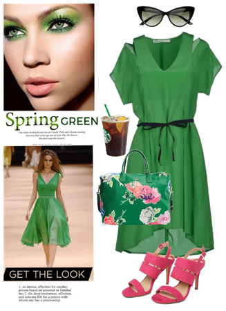 Spring Green/Get the look