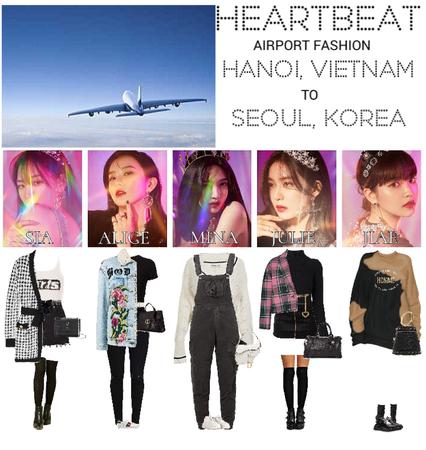 [HEARTBEAT] AIRPORT | HANOI, VIETNAM TO SEOUL, SOUTH KOREA