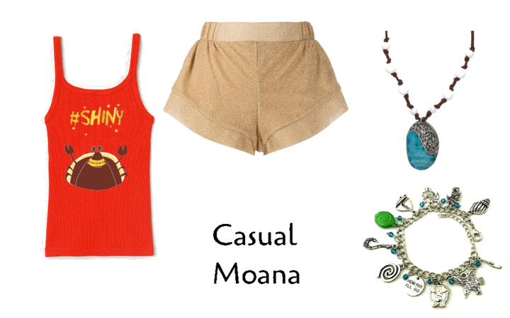 Casual Moana DisneyBound