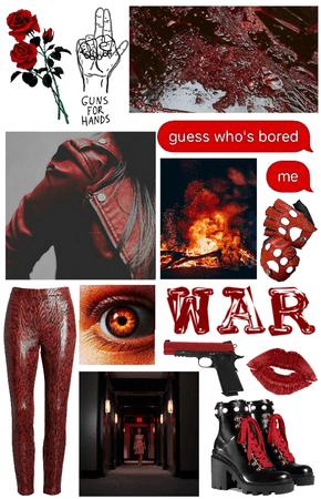 war — horseman of the apocalypse