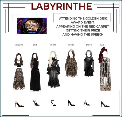 LABYRINTHE golden disk award