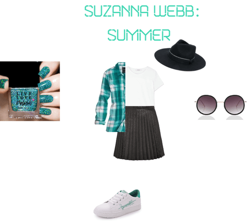 Suzi in Summer