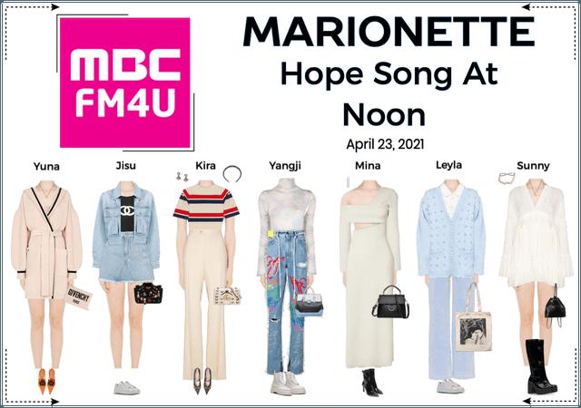 마리오네트 (MARIONETTE) - Hope Song At Noon