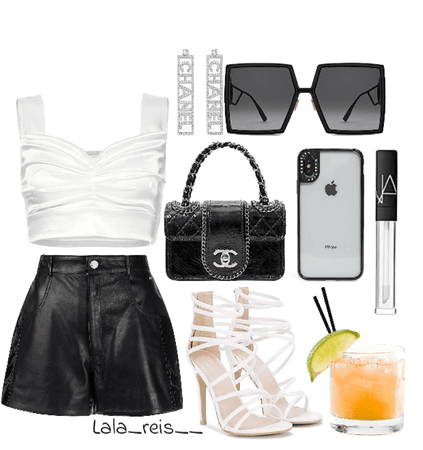 Black Chanel Outfit
