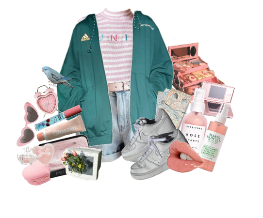 casual pastel